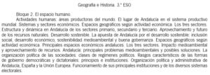 Currículo Andalucía